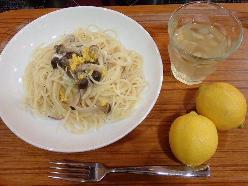 レモンクリームパスタ&とレモネード